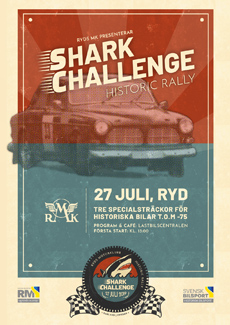 Shark Challenge Historic Rally