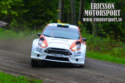 Finsk ledning i vm rallyt