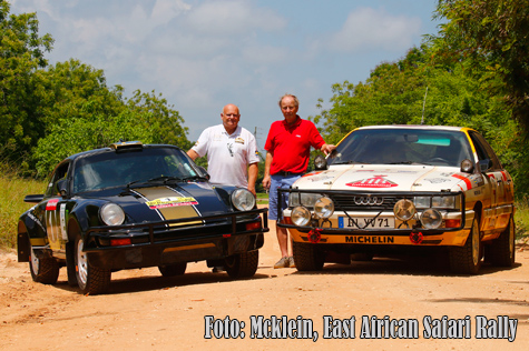 Mcklein, East African Safari Rally.