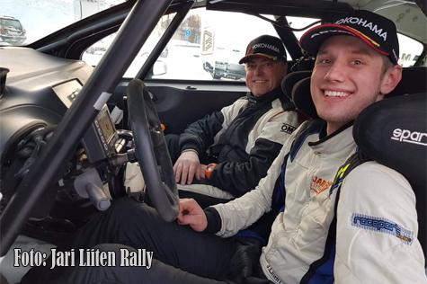 © Jari Liiten Rallyteam.