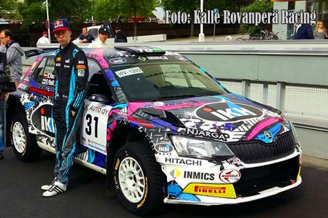 © Kalle Rovanperä Racing.