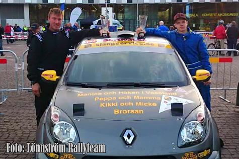 � L�nnstr�m Rallyteam.