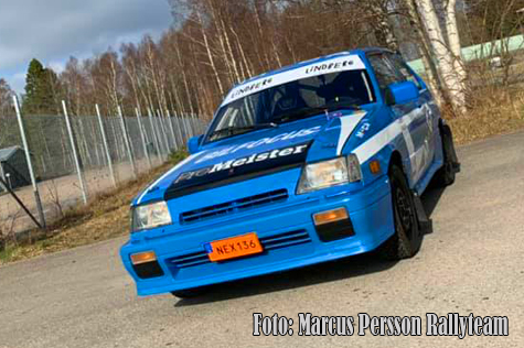 © Marcus Persson Rallyteam.