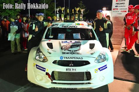 © Rally Hokkaido.