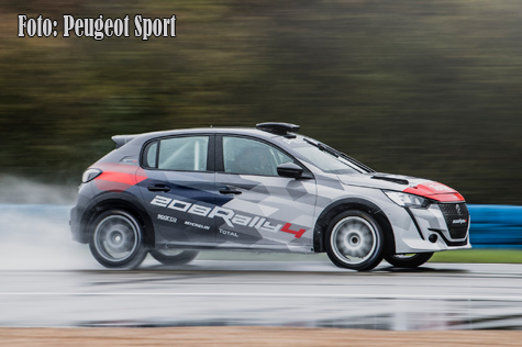 © Peugeot Sport.