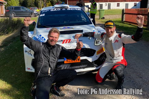 © PG Andersson Rallying.