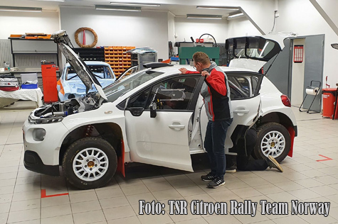 © TSR Citroen Rally Team Norway.