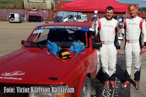 © Victor Karlsson Rallyteam.